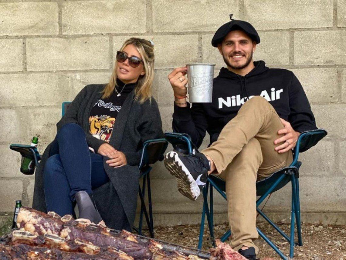 Exjugador de Inter afirmó que Mauro Icardi y Wanda Nara tienen sexo 12 veces al día