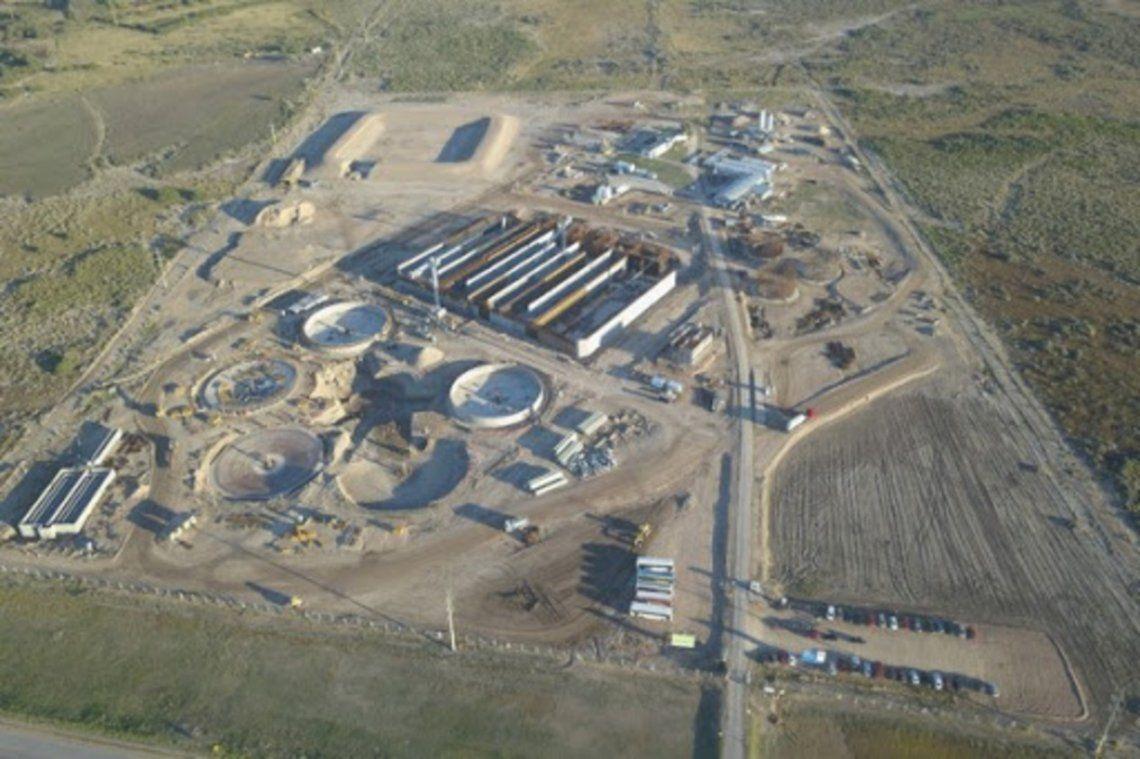 Berisso: la Planta depuradora de líquidos cloacales de Berisso funciona a su máxima capacidad