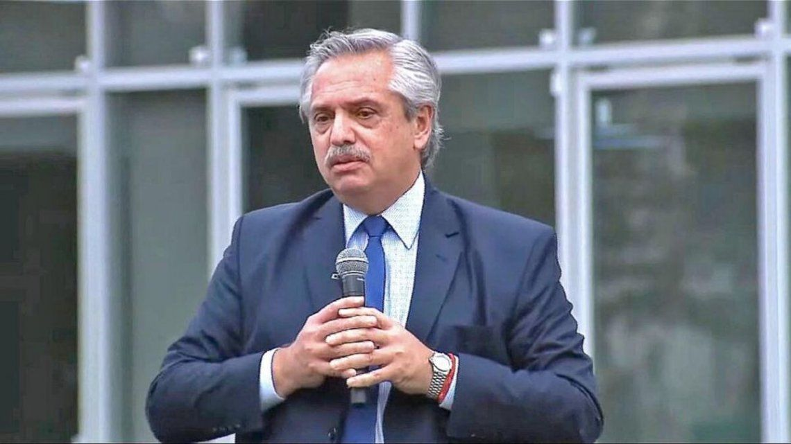 Alberto Fernández habló sobre la pandemia