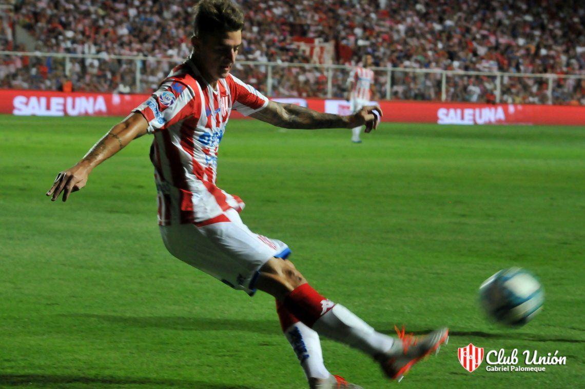 Calderón será titular en Unión