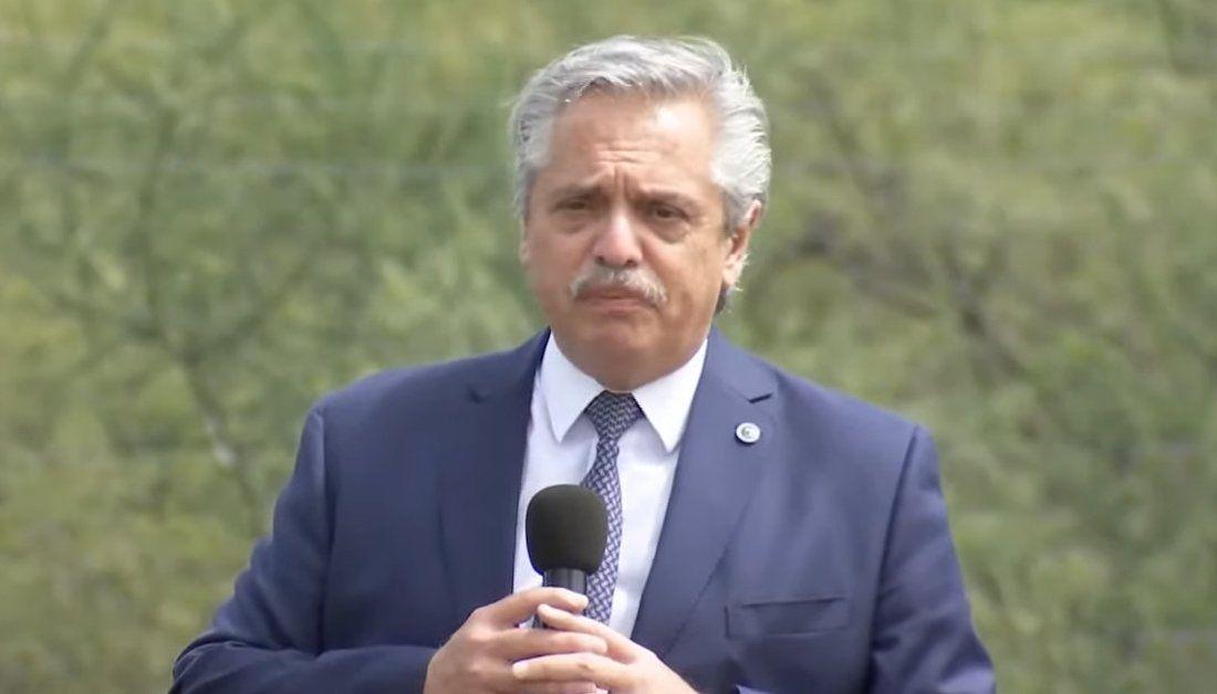 Alberto Fernández anunció un sistema de reducción de aportes.