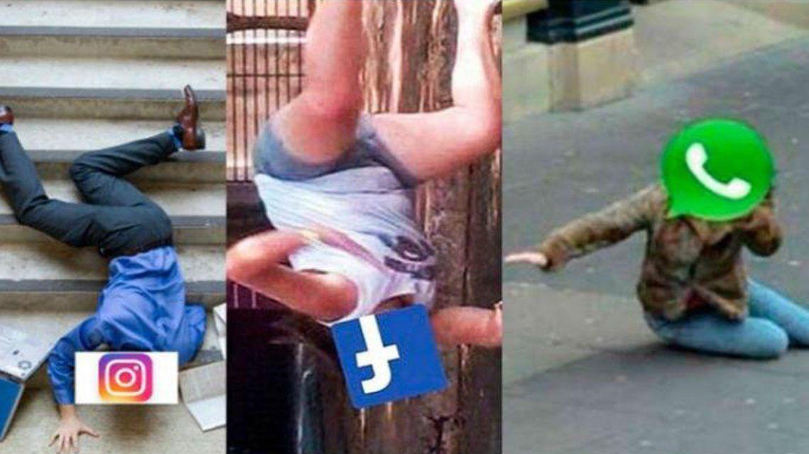 Se cayeron las redes sociales pertenecientes a Facebook.