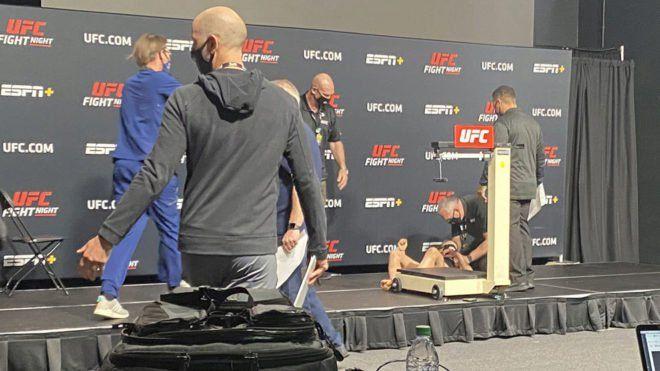 UFC: luchadora de Lituania.