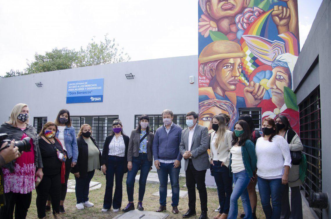 Inauguraron espacio para prevenir violencia de género