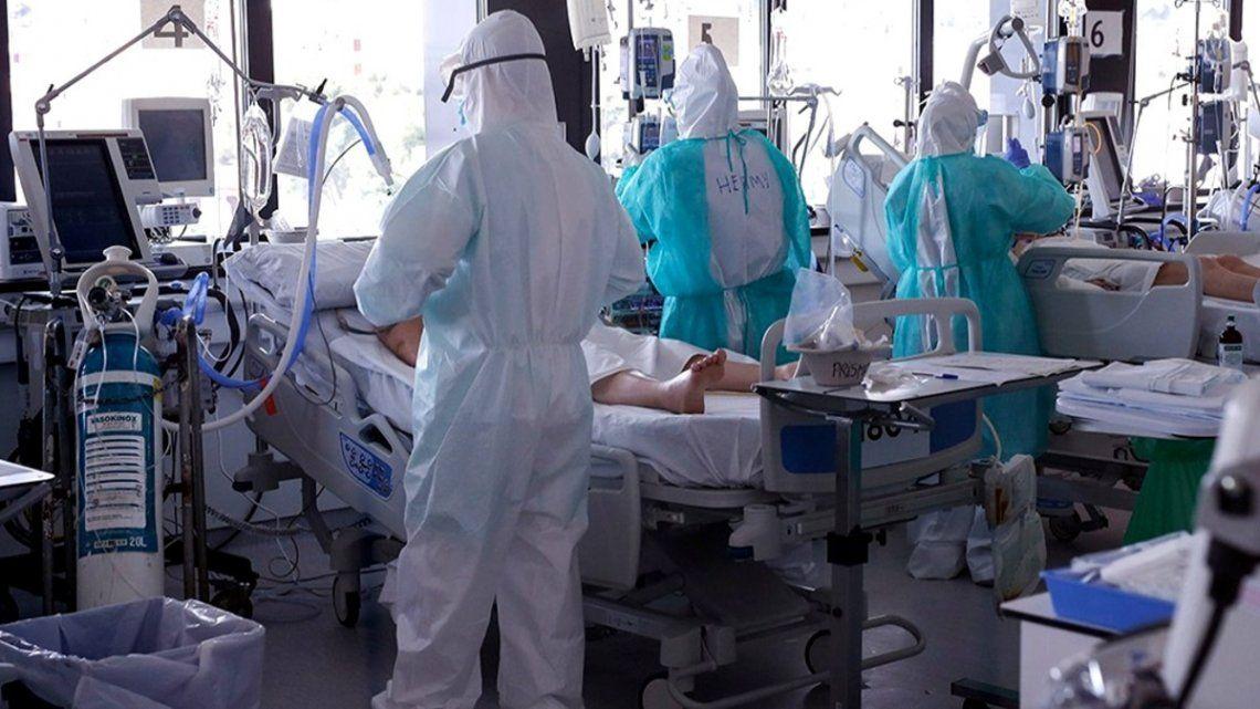 En Paraguay el coronavirus sigue en alza. Está ocupado el 100% de las camas de terapia intensiva
