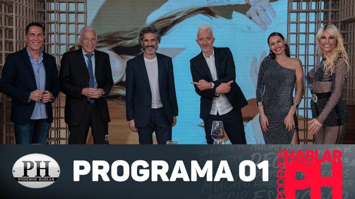 El programa de Andy Kusnetzoff contó con grandes invitados para el debut