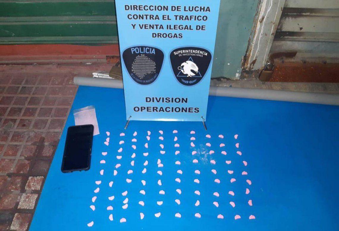 La Policía de la Ciudad montó un operativo en el barrio de Retiro y microcentro.