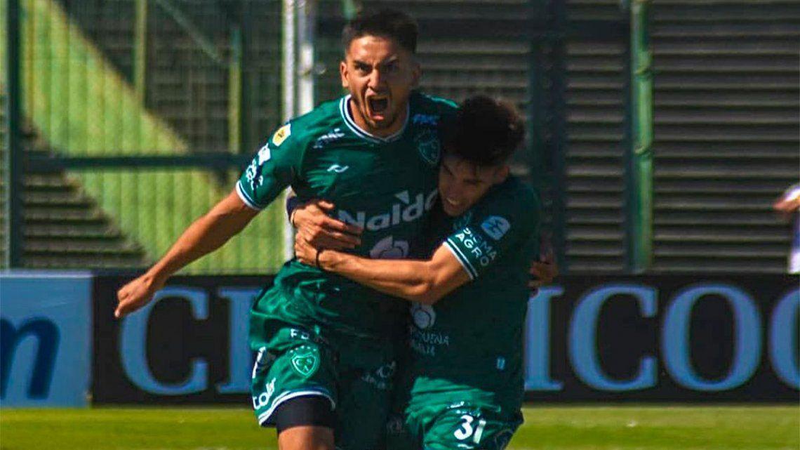 Sarmiento que no registraba victorias desde su regreso a Primera División.