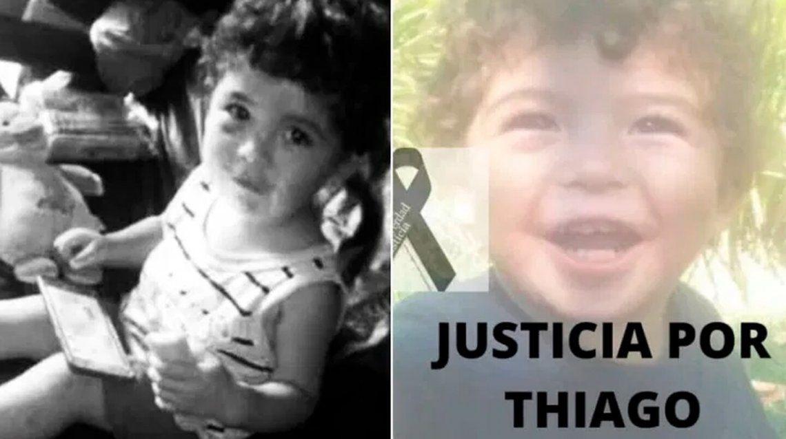 Pilar: Thiago tenía dos años. Su cuerpo presentaba golpes