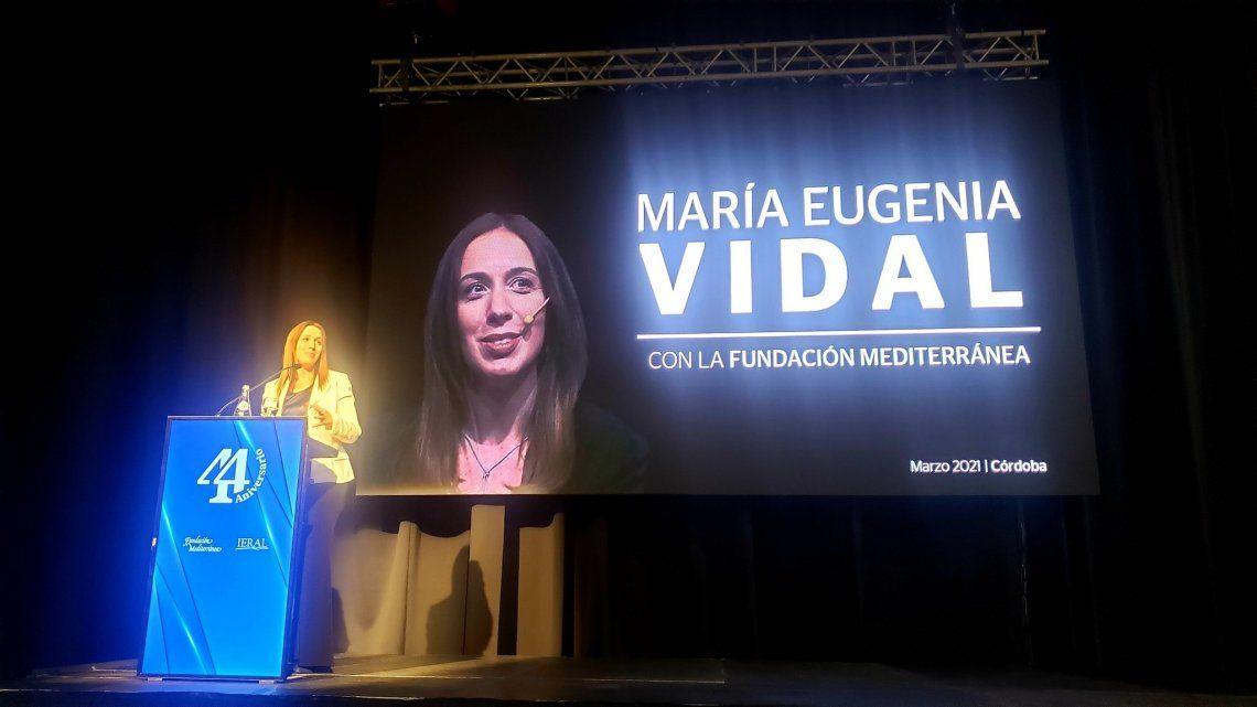 María Eugenia Vidal reapareció tras meses en silencio