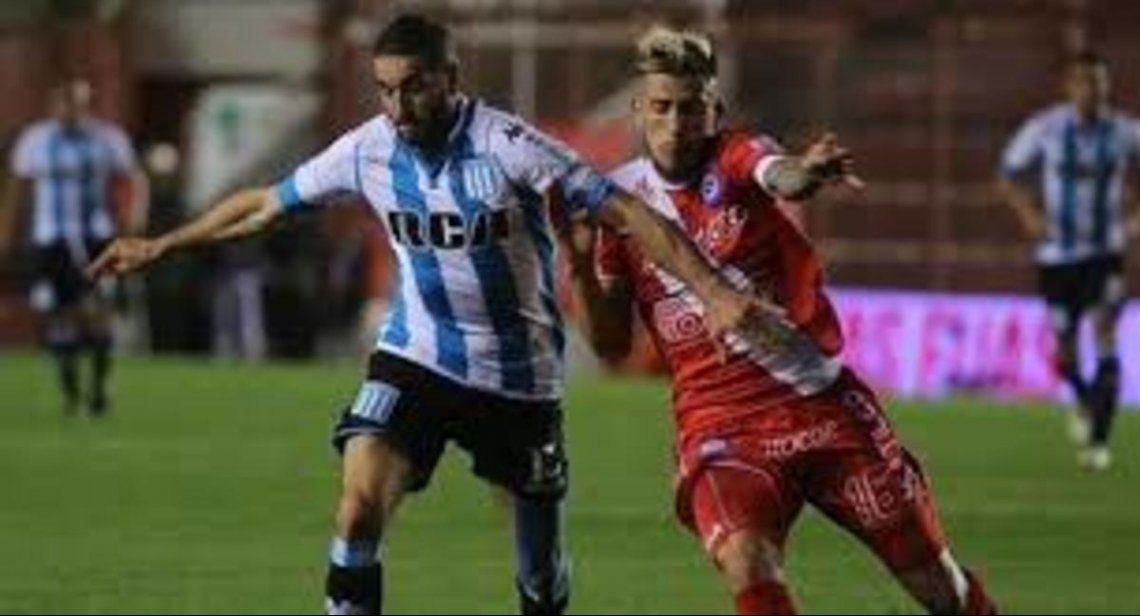 Racing le ganó de local a Argentinos