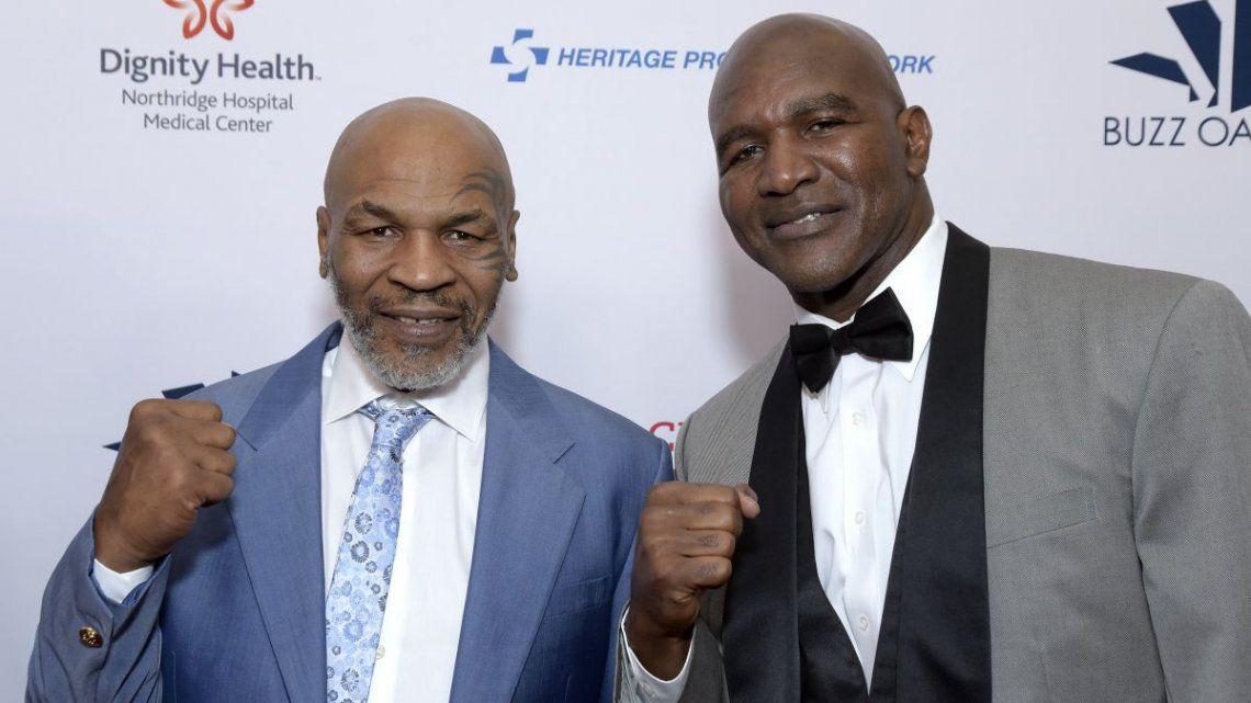 Mike Tyson rechazó 25 millones de dólares para pelear contra Evander Holyfield