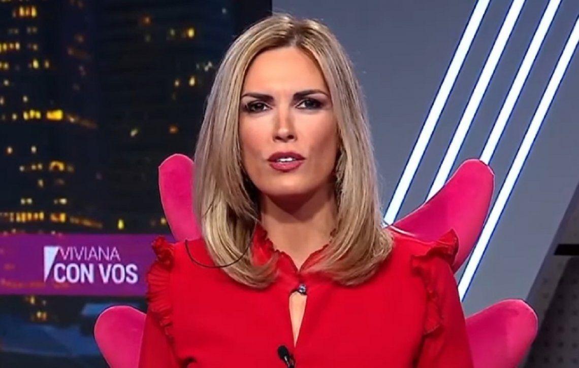 Viviana Canosa comenzó su programa con una dura editorial.