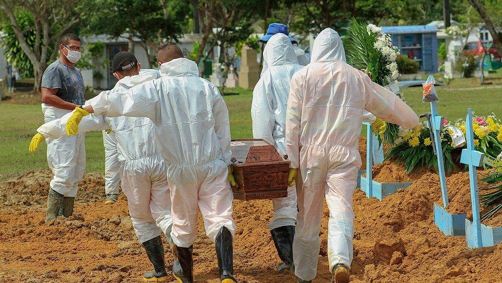 Brasil: más de 3.000 muertos de coronavirus en un día y la salud colapsada.