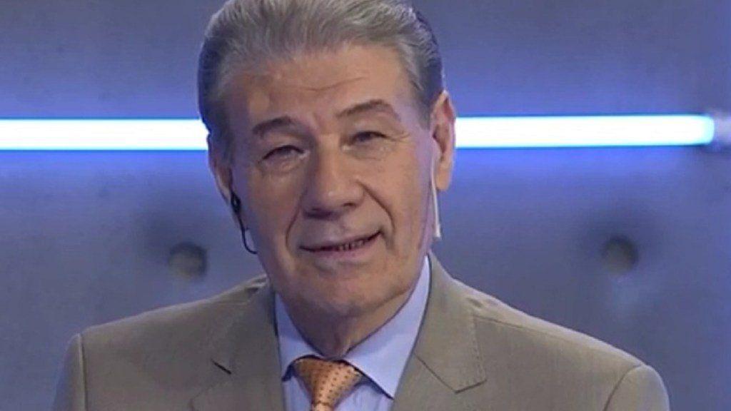 Víctor Hugo Morales fue internado con neumonía bilateral