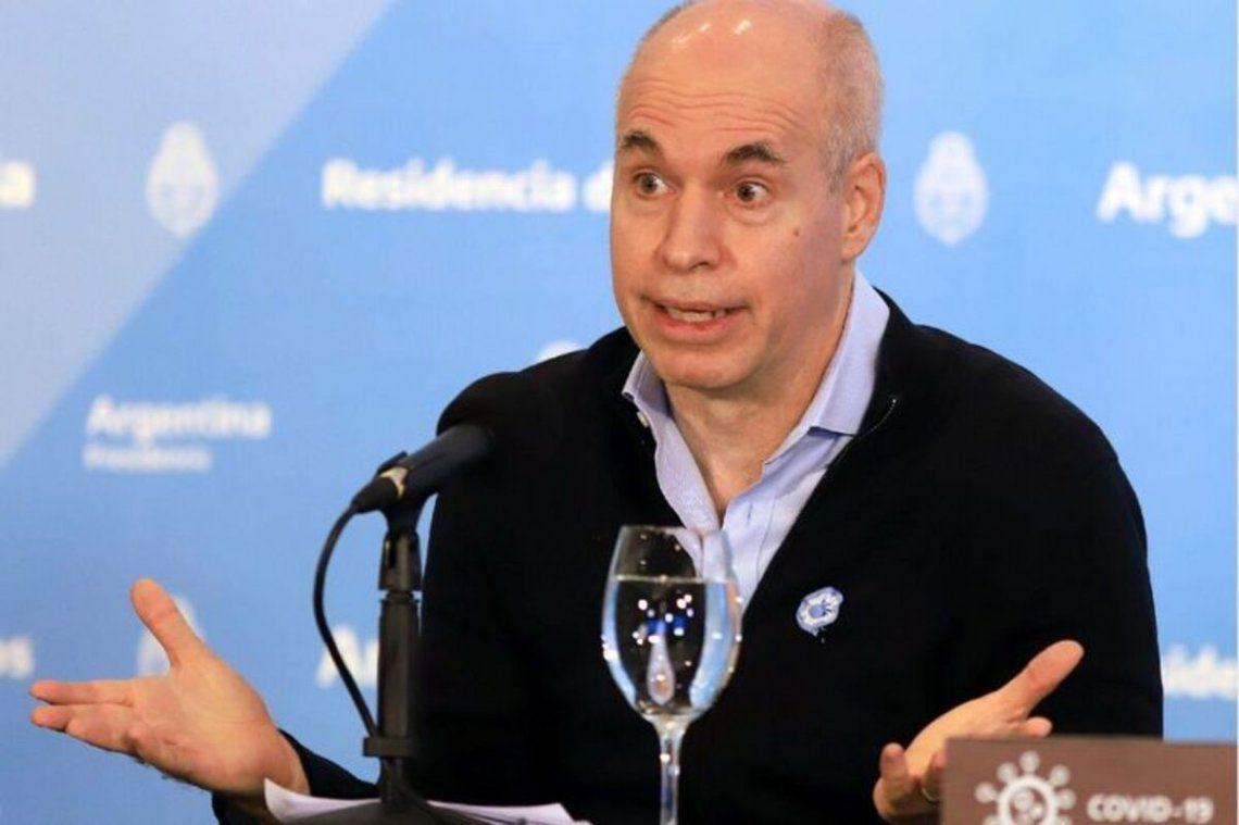 Horacio Rodríguez Larreta quedó internado en observación