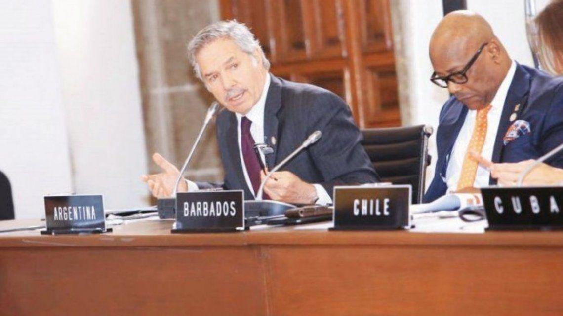 La noticia fue confirmada por la Cancillería que conduce Felipe Solá.