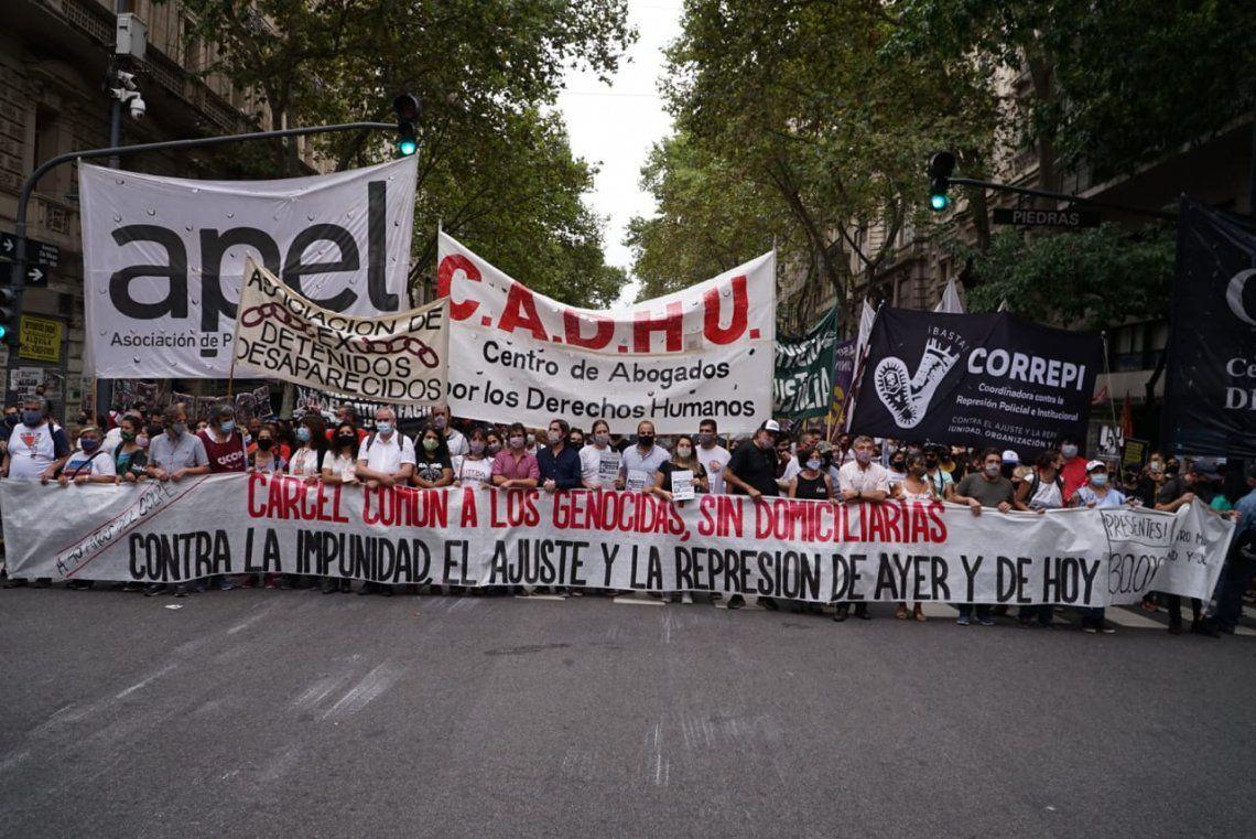 Día de la Memoria: la izquierda marchó a Plaza de Mayo.
