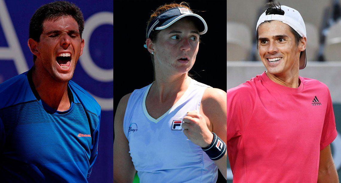 Masters 1000 de Miami: debutan Podoroska, Coria y Delbonis