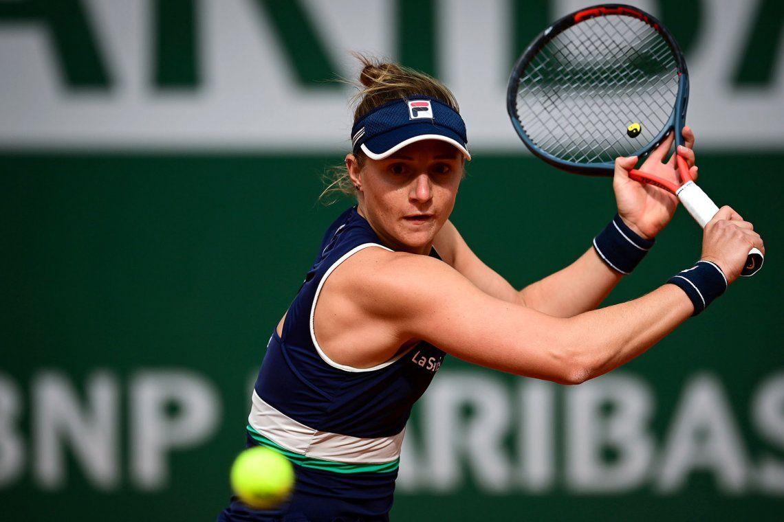 Nadia Podoroska no puede recuperar el buen nivel que mostró en 2020