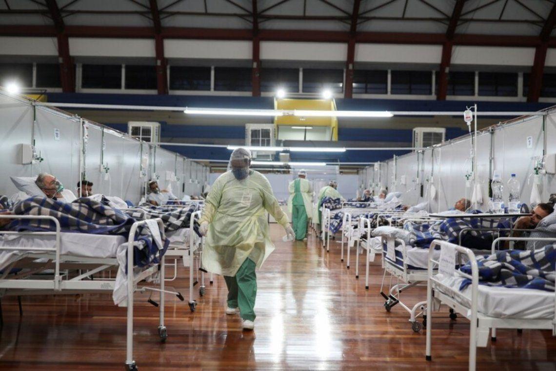 Los hospitales y centros de salud se encuentran desbordados.
