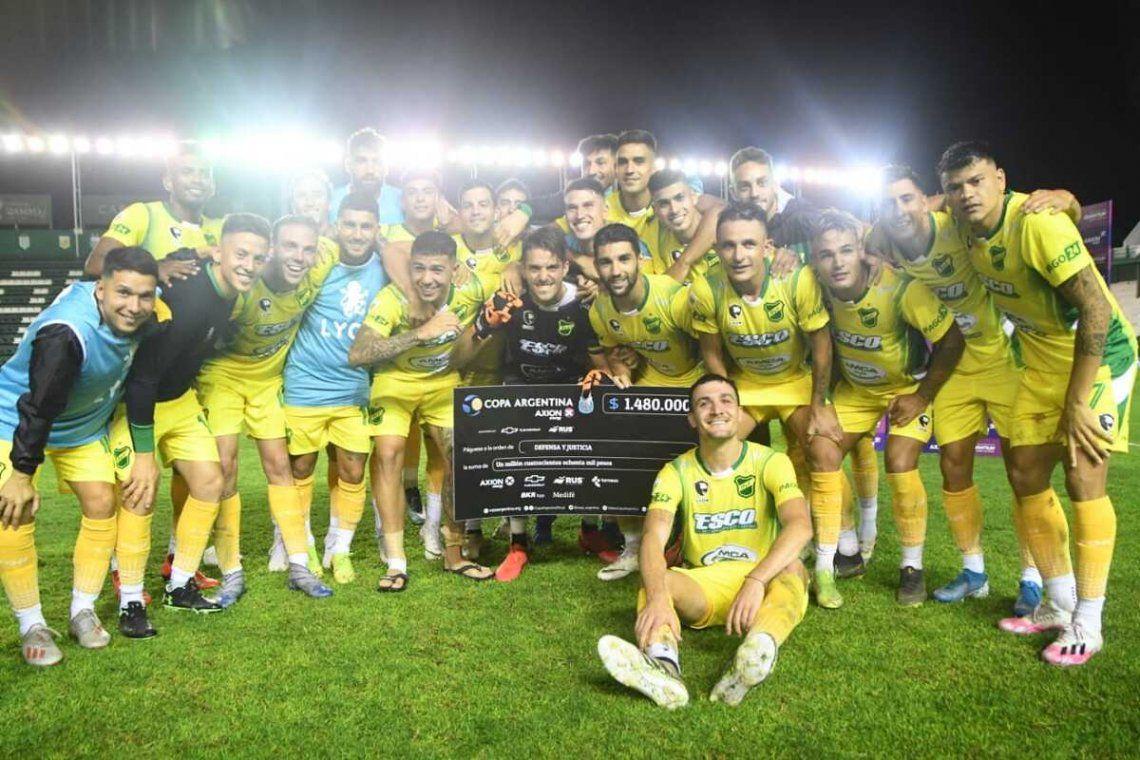 Defensa y Justicia sigue en carrera en la Copa Argentina.