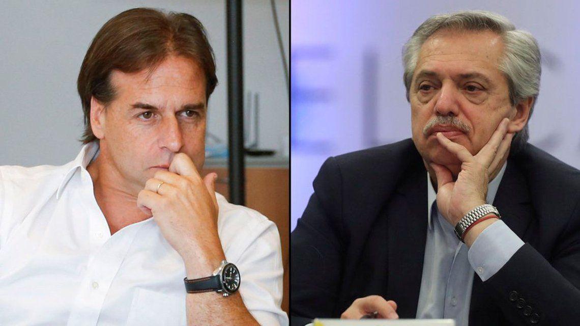 Mercosur: Tenso cruce entre Alberto Fernández y Lacalle Pou.