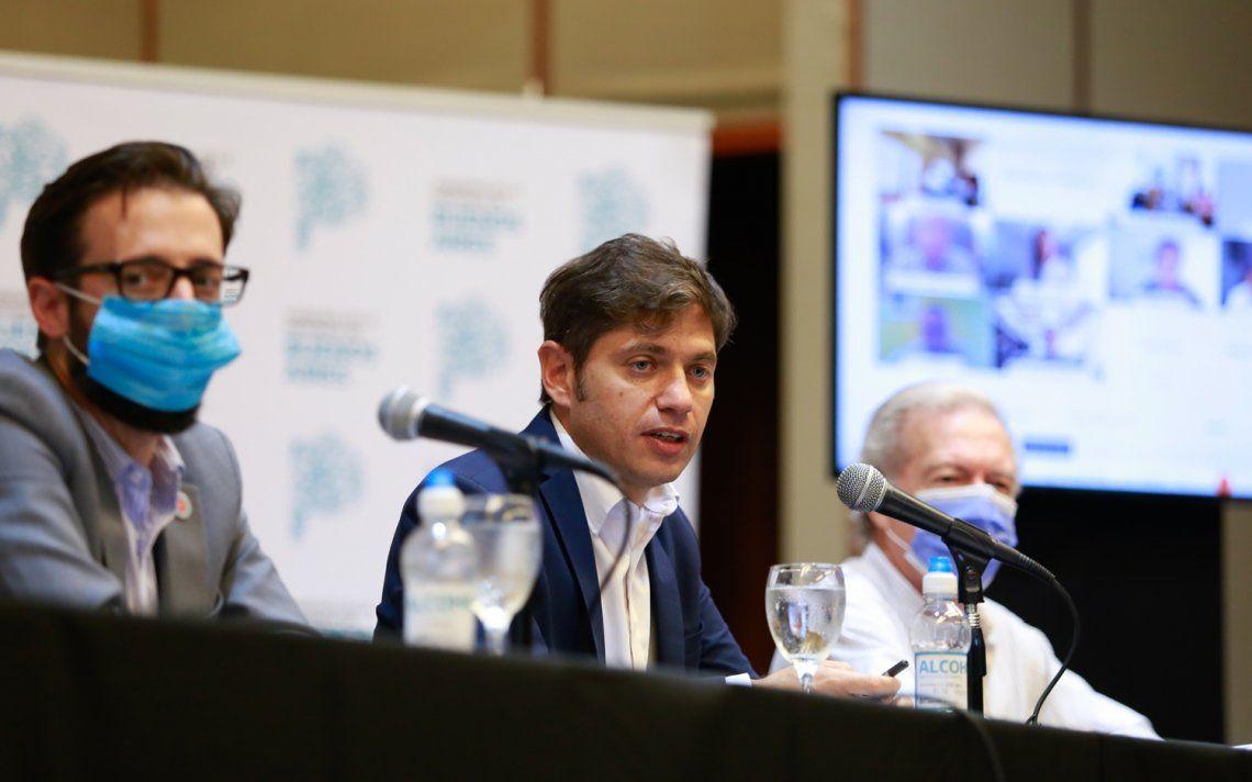 Boicot a la vacunación: Kicillof denunció falsa convocatoria en Tigre