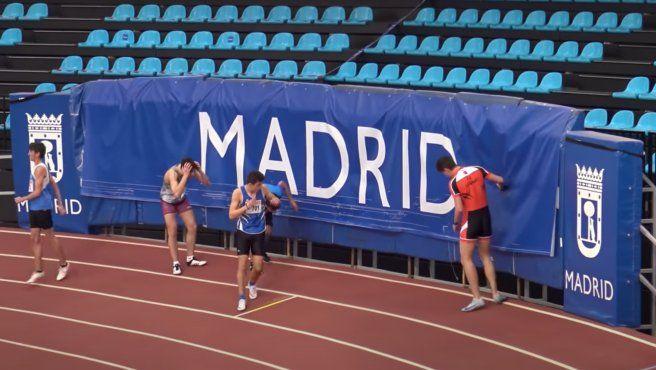 España: grave accidente de un atleta.