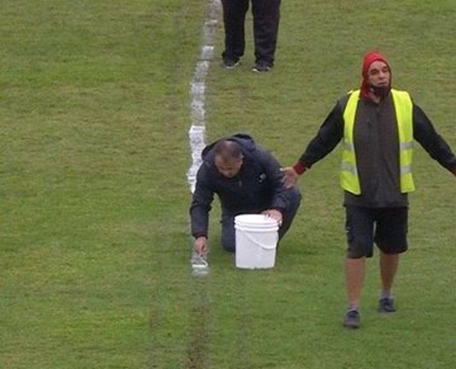 Uruguay: accidentando partido de Fútbol entre Progreso y Peñarol