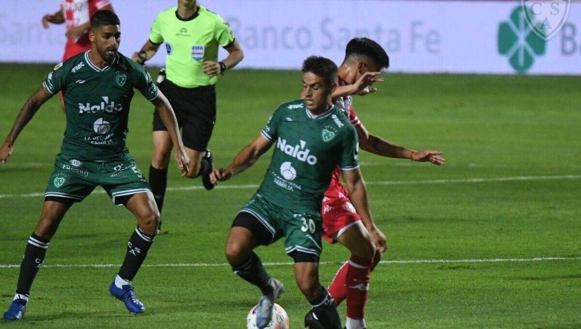 Unión y Sarmiento terminaron 0-0.
