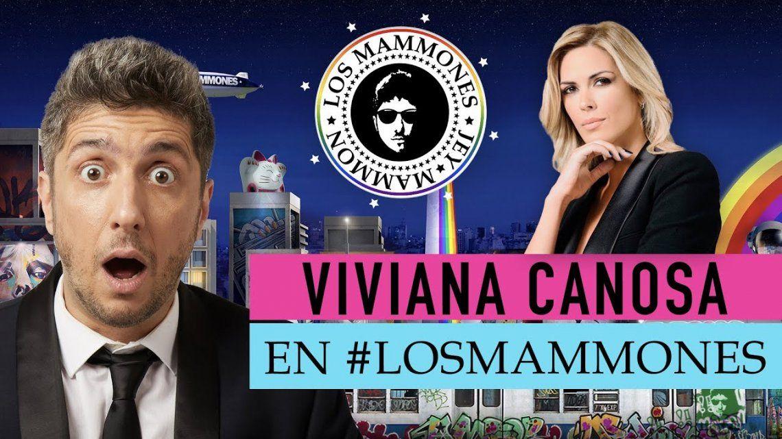 Viviana Canosa calentó la noche de Jey Mammon