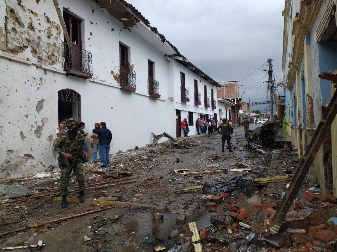Colombia: Un nuevo atentado de una fracción disidente de las FARC