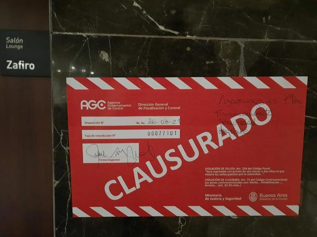 Balvanera: fiesta clandestina con drogas en un hotel