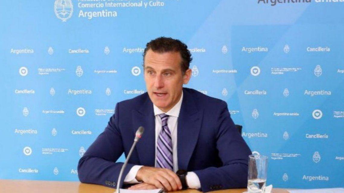 Mercosur el jefe de Gabinete de la Cancillería Guillermo Justo Chaves
