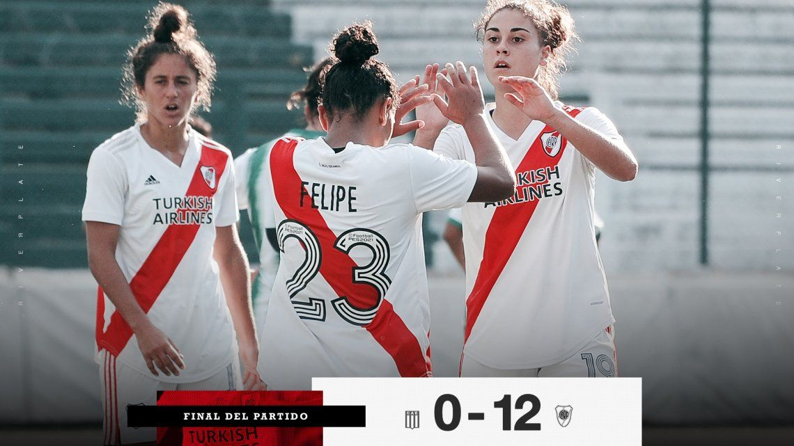 River Plate apabulló a Excursionistas