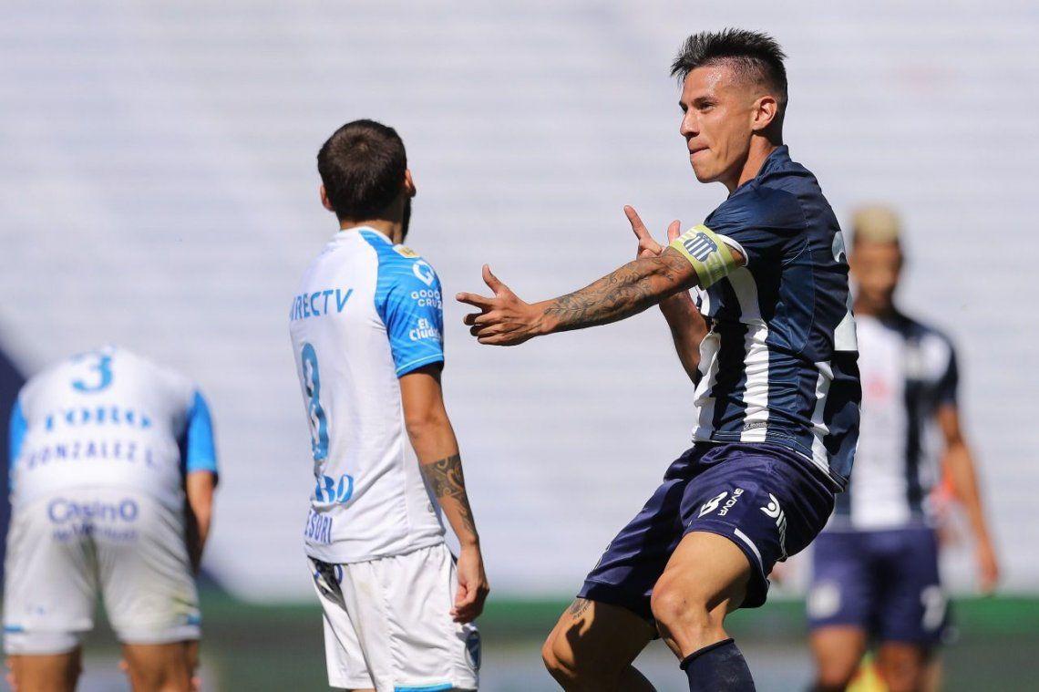 Auzqui sigue de racha tras su gol en la Bombonera del fin de semana pasado.