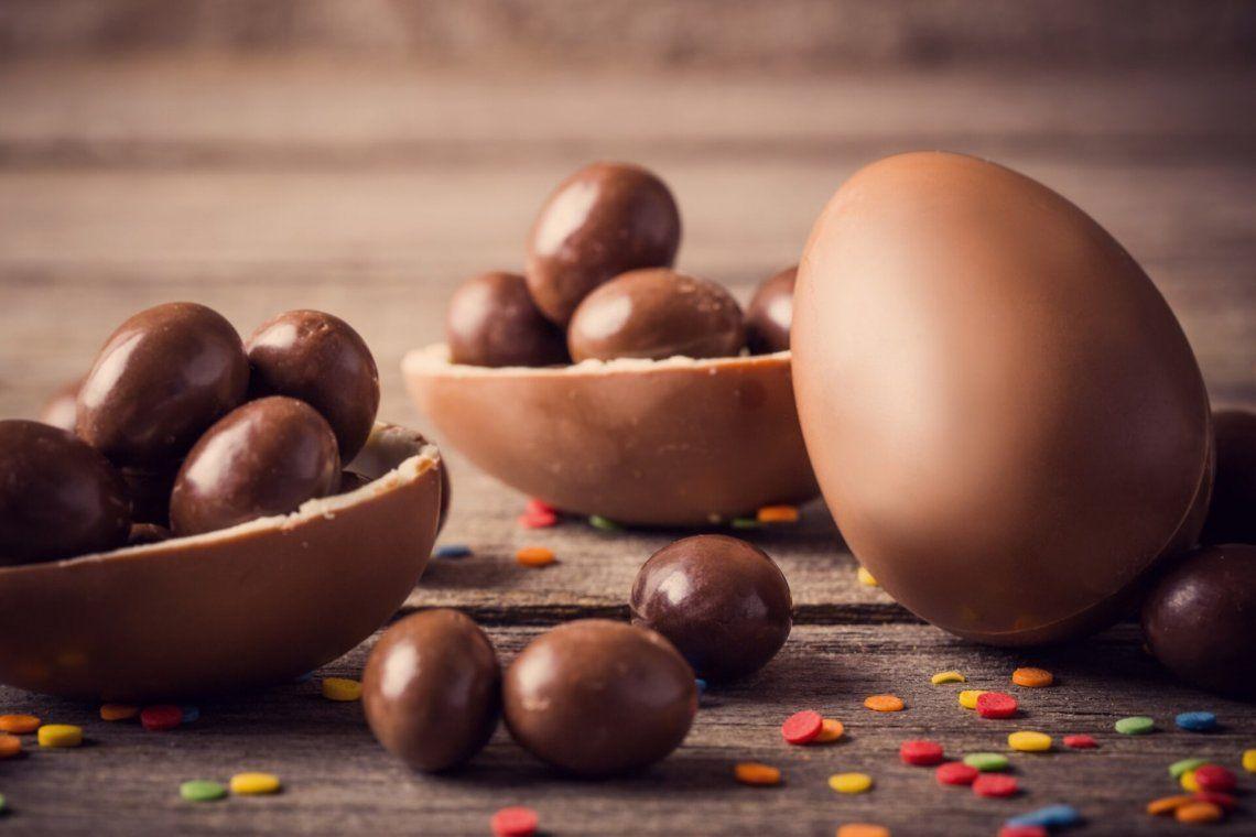Pascua: receta paso a paso de 5 huevos de chocolate por $350