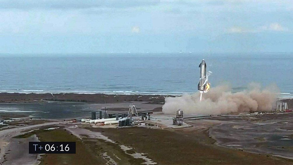 SpaceX: fallido vuelo de prueba.
