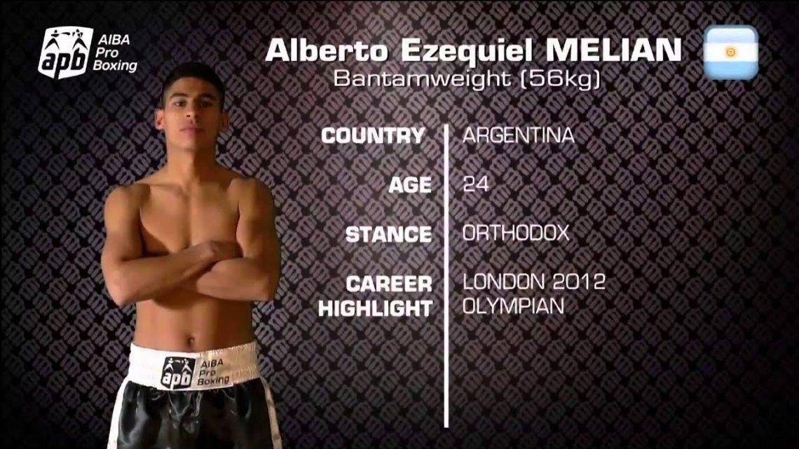 Boxeo: Alberto Impacto Melián y el resurgimiento del boxeo argentino