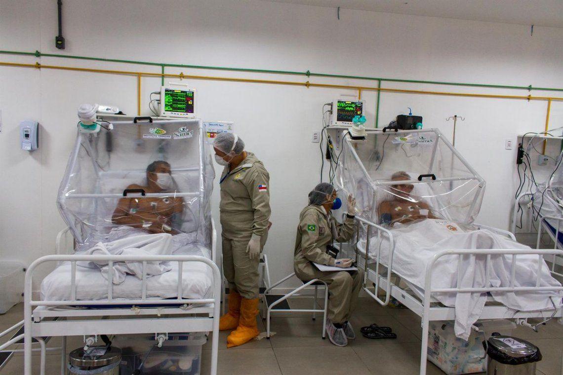 Los hospitales en Brasil se encuentran al borde del colapso.