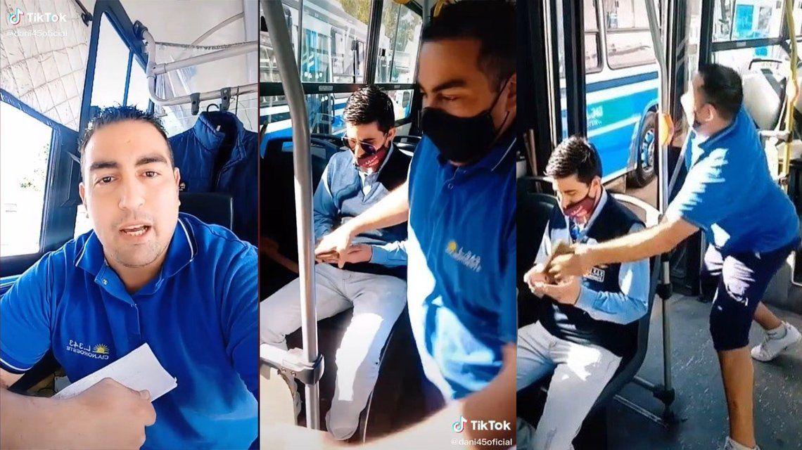 TikTok: Colectivero te muestra los asientos más robables