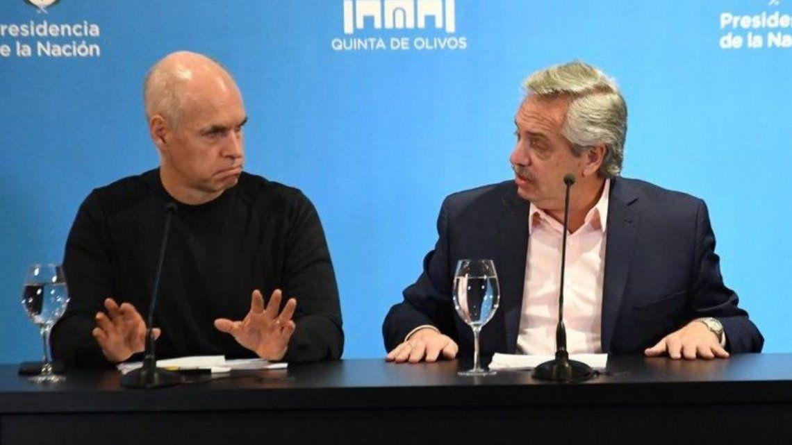 Horacio Rodríguez Larreta y Alberto Fernández se reunirán mañana en Olivos. ¿Se sumará Kicillof?