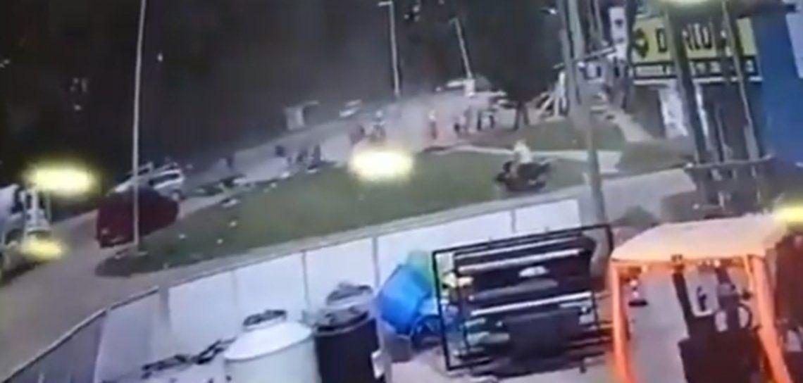 El trágico accidente en Florencio Varela.