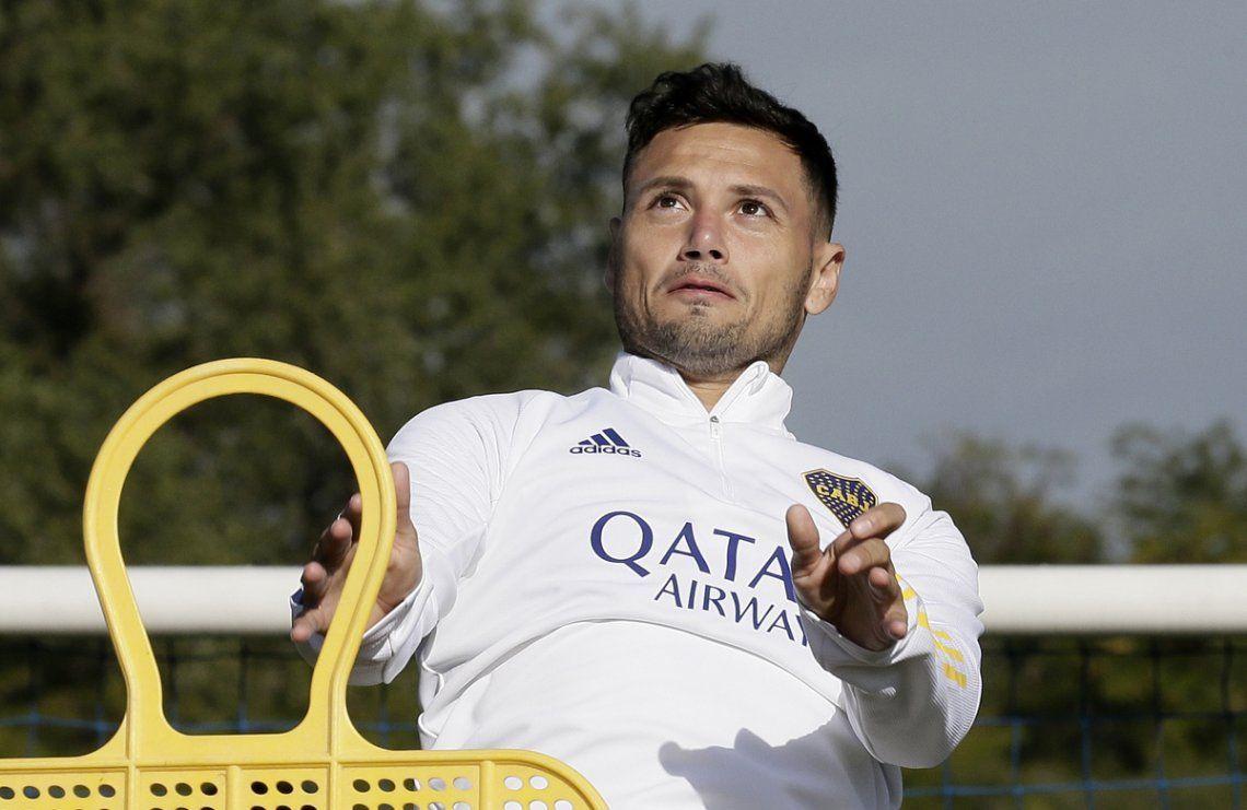 Mauro Zárate quiere ganarse un lugar en Boca.