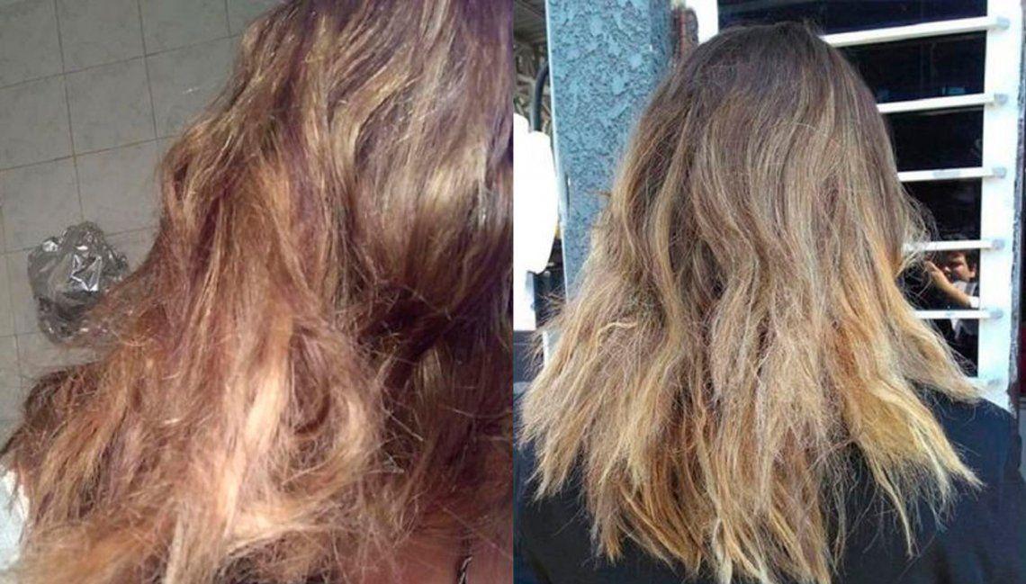 Mendoza: peluquero deberá indemnizar a clienta a la que le quemaron el pelo