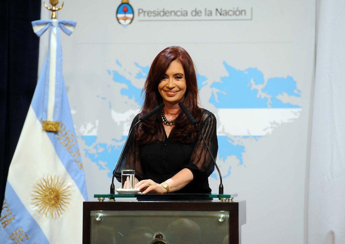 Cristina Kirchner recordó a los heróes de Malvinas