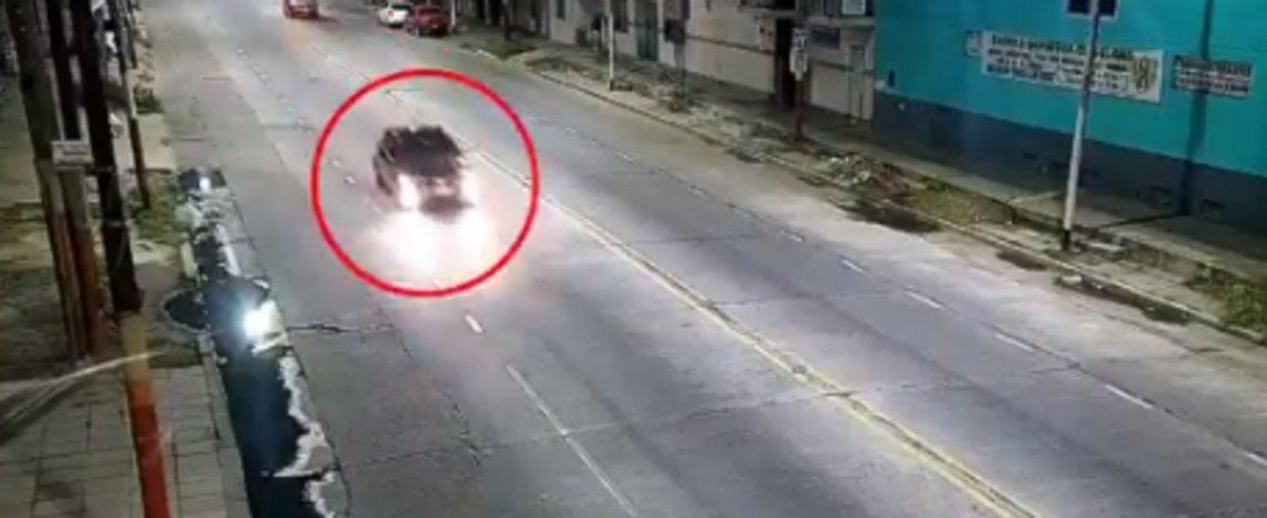Lanús: el auto que atropelló y mató a Denise y Agustina Ojeda.