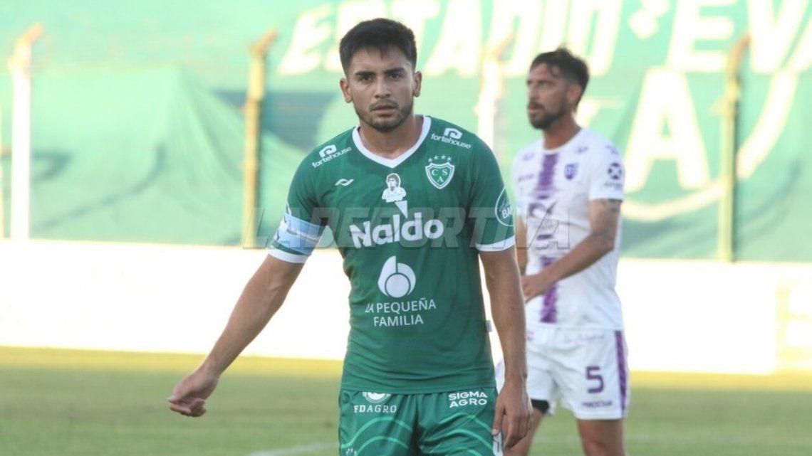 Jonatan Torres le da profundidad a los ataques de Sarmiento