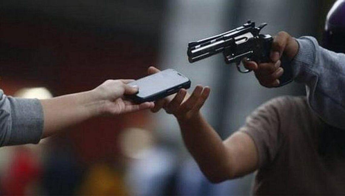 El robo de celulares crece en todo el país